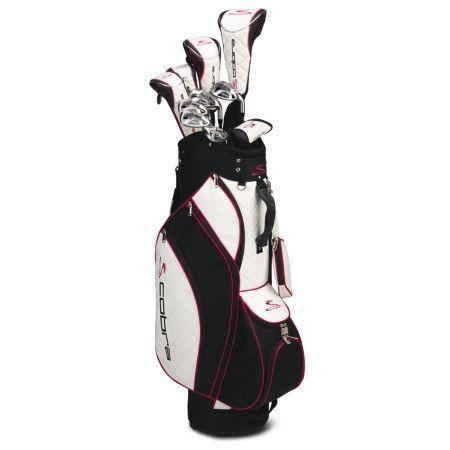 Cobra Women's Golf Set | New Cobra Golf - Ladies Sapphire Complete Set with Bag *Pink*