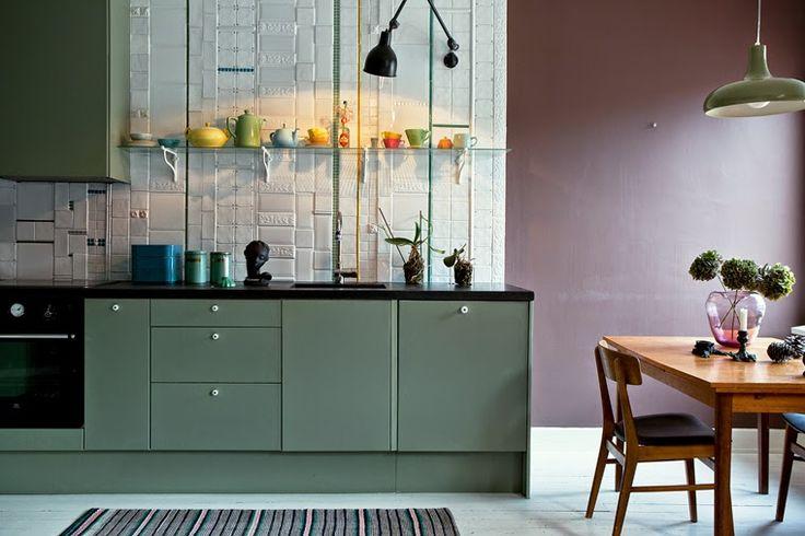 Otroligt snyggt och modernt kök tillhörande Isabelle McAllister. Nu till salu! –  Roomly.se - En av Sveriges största sajt för inspiration till hemmet