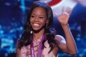 Gymnast Gabby Douglas shows off talent as co-host on 'America's Got Talent': http://theclicker.today.msnbc.msn.com/_news/2012/08/16/13315747-gymnast-gabby-douglas-shows-off-talent-as-co-host-on-americas-got-talent?lite (Photo: NBC)