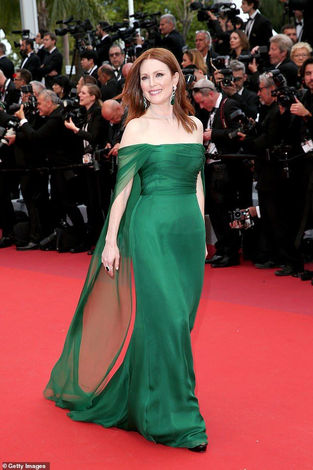 Julianne Moore Wows In An Elegant Gown At The Cannes Film Festival