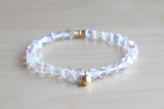 Delicate mala bracelet / yoga bracelet / layer by HandsLoveJewelry