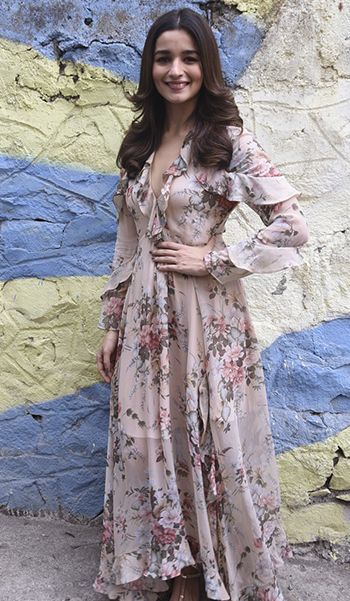 Alia Bhatt in a Zimmermann dress