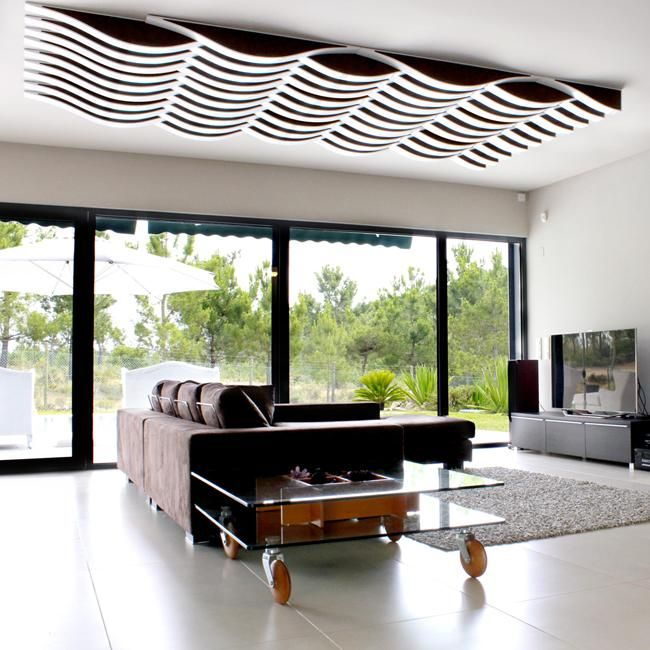 Fancy Deckengestaltung mit Schallschutzpaneelen flexiwave von Vicoustic acoustic treatment Pinterest