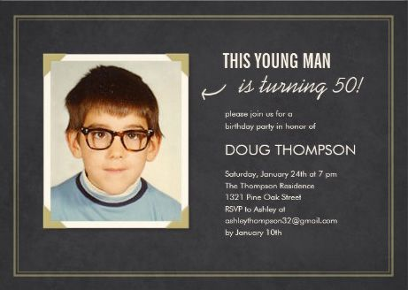 Best men s birthday party invitations images
