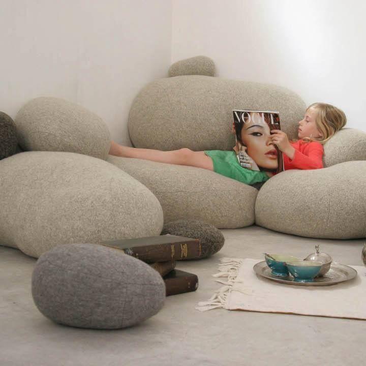 """stone"" sofa"