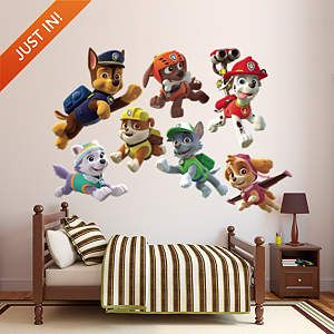 PAW Patrol Puppies Collection Fathead Wall Decal