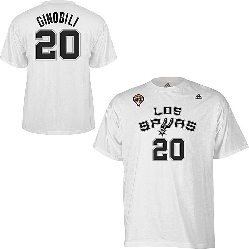 adidas San Antonio Spurs NBA Manu Ginobili Latin Nights Gametime T-Shirt