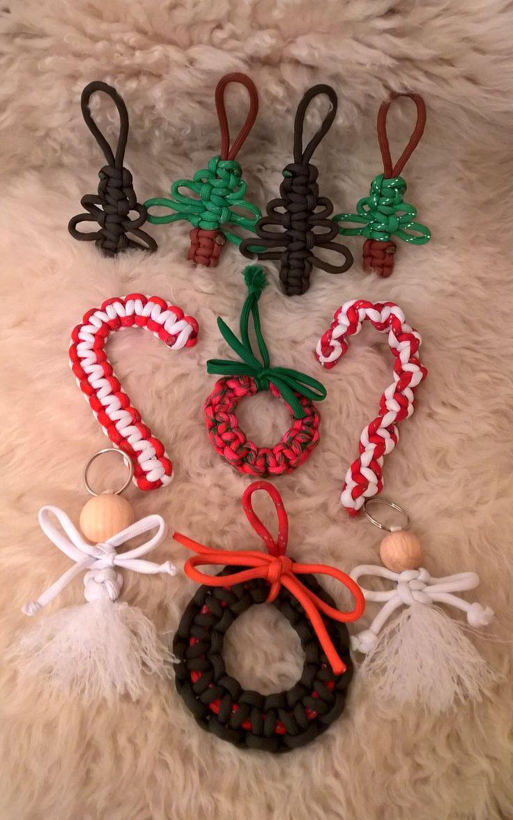 Paracord Christmas Ornaments