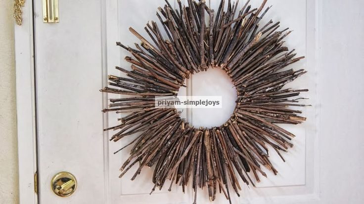 DIY Fall Stick Wreath | A #2usestuesday Feature