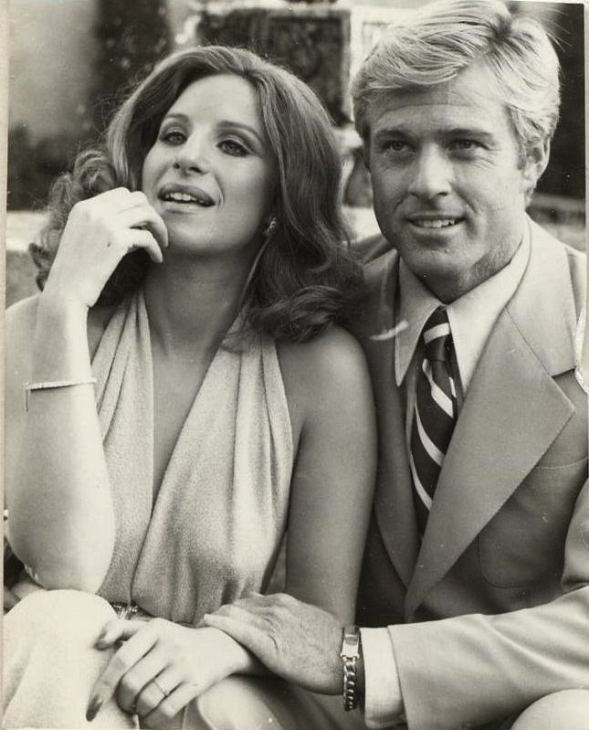 Barbra Streisand and Robert Redford in The way we were directed Sydney Pollack, 1973