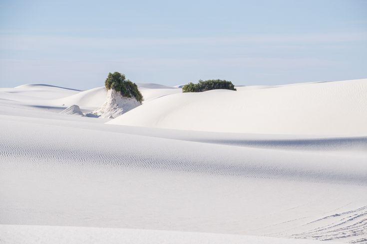 White sands dune nouveau mexique-