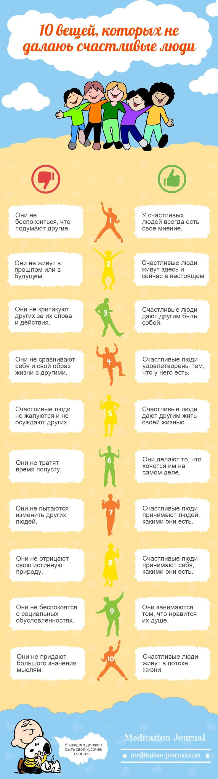 10 вещей, которых не делают счастливые люди - http://meditation-journal.com/10-veshhey-kotoryih-ne-delayut-schastlivyie-lyudi