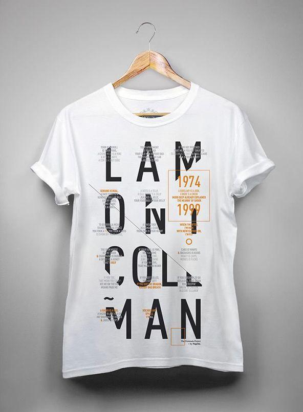 Typographic Designers T-shirt #TshirtTuesday #Tshirt #Design