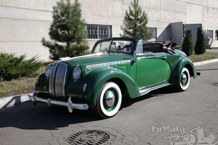 1938 Opel Admiral Hebmuller  Cabrio
