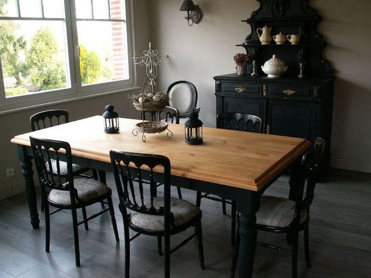 C'est le nom de ma nouvelle table, collection de chez AM PM, qui a pris place dans la véranda ... Je l'ai eu brut et j'ai bien...