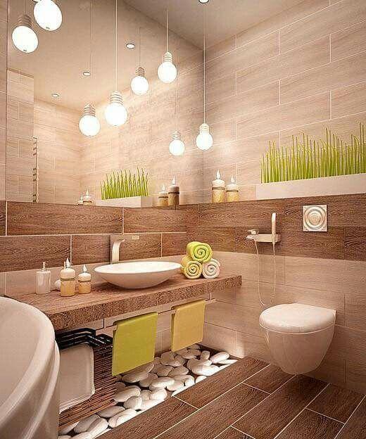 20 kreative Spa-Badezimmer-Ideen für Ihre beste R…