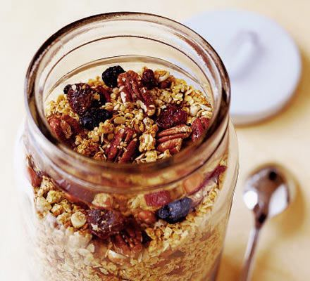 Make your breakfast a fruity feast - this recipe is full of crunchy goodness