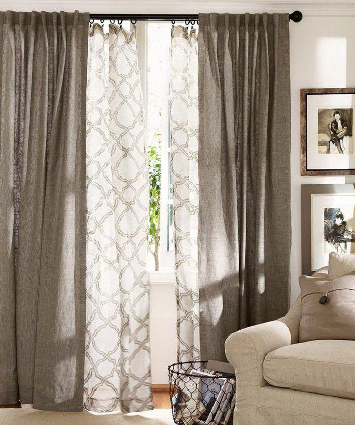 les 25 meilleures id es de la cat gorie tringle pour double rideaux sur pinterest glisser du. Black Bedroom Furniture Sets. Home Design Ideas