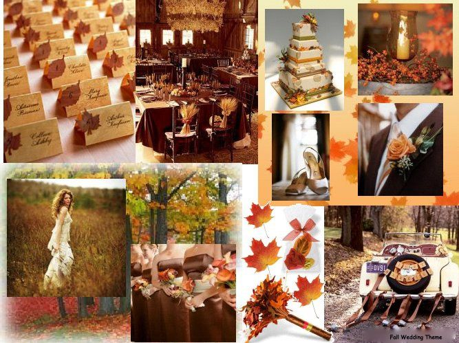Fall Wedding Ideas On A Budget | How To Set The Wedding Theme On A Budget