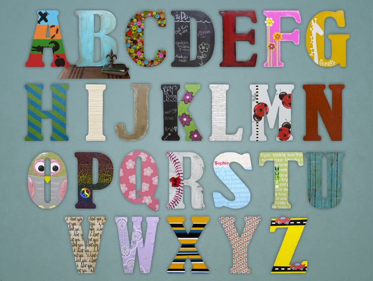 awesome finished projects using 18 unfinished wooden letters from hobby lobby