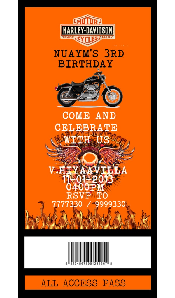 Harley davidson birthday party invitations choice image coloring harley davidson birthday invitations images coloring pages adult filmwisefo