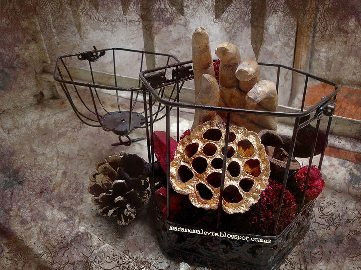 Todavía estoy preparando otra tanda para este halloween, ¡os prometo que no os dejará indiferentes! http://madamemalevre.blogspot.com.es/  #arte #macabro #escultura