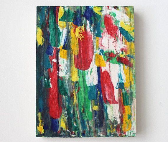 Original acrylic painting Spring painting by AnaisArtShoppe