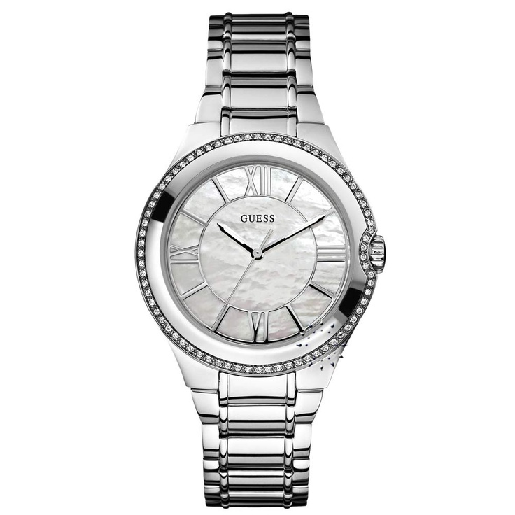 GUESS Moonbeam Crystal Stainless Steel Bracelet  152€  http://www.oroloi.gr/product_info.php?products_id=25301