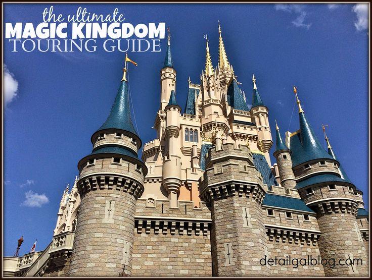 www.detailgal.com: Magic Kingdom touring plan | 1 & 2 day Itinerary | Magic Kingdom Dining