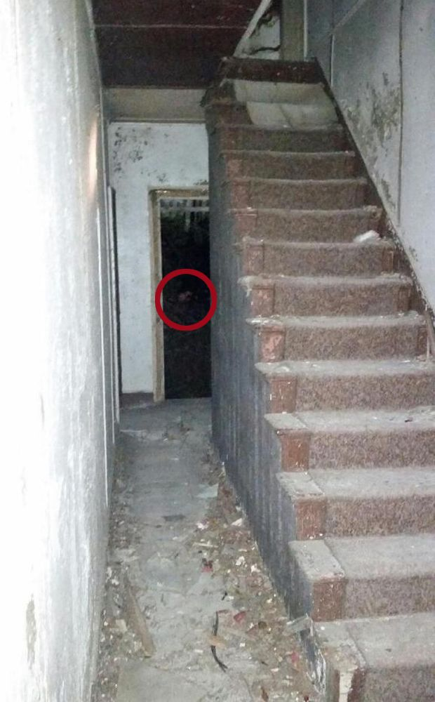 Real Ghost Pictures: Woman's Face In Serial Killer Nathaniel Whites House