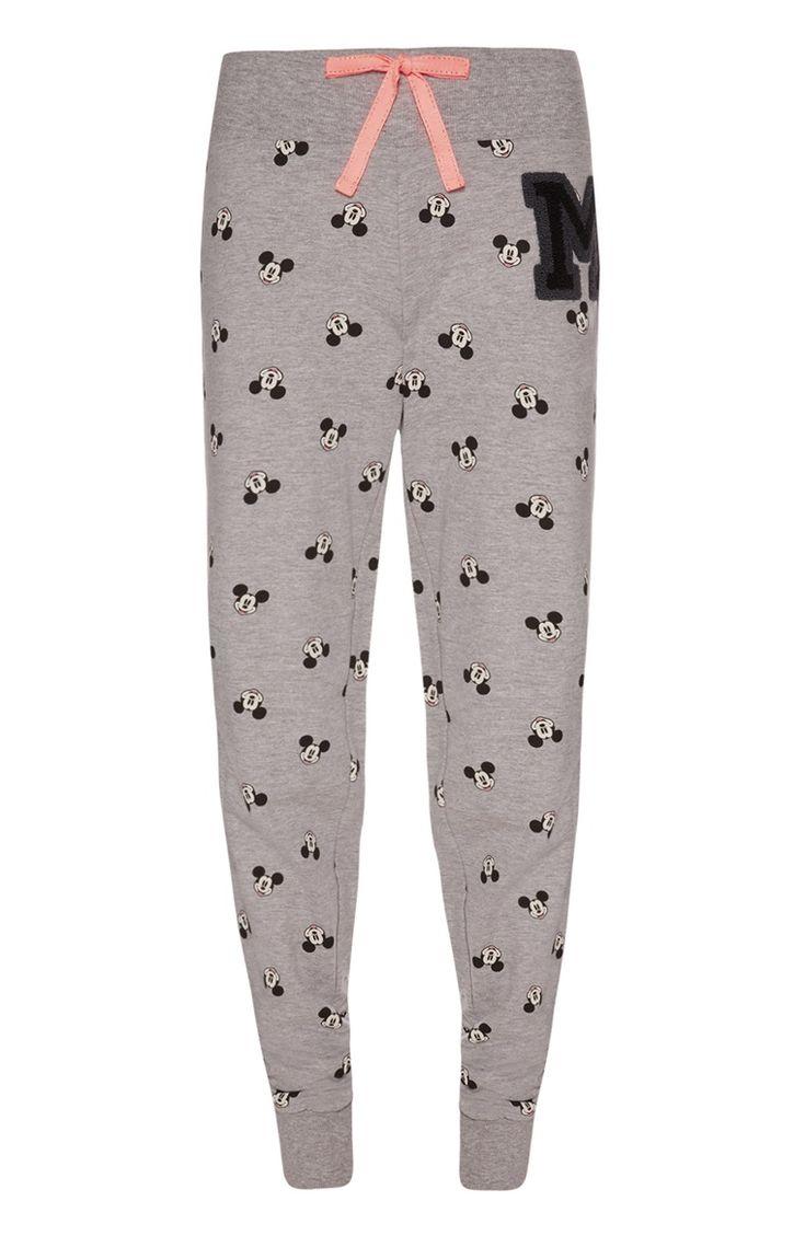 Primark - Grijze pyjamalegging met Mickey