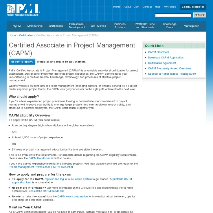Project Management Certification Exam
