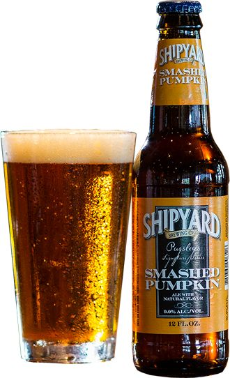 In addition to their seasonal favorite, Pumpkinhead, Shipyard offers this copper-hued,full-bodied pumpkin beerthat boasts a whopping9% ABV.