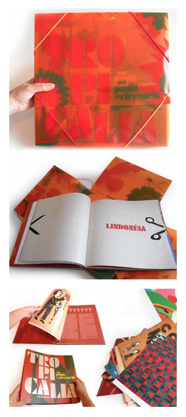 Poster design 1950 - Livro Tropic Lia Ou Panis Et Circencis Projeto Gr Fico Rico Lins E Amanda Dafoe Bookmarkseditorialgraphic Design