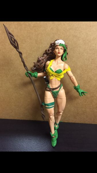 Savage Land Rogue (Marvel Legends) Custom Action Figure