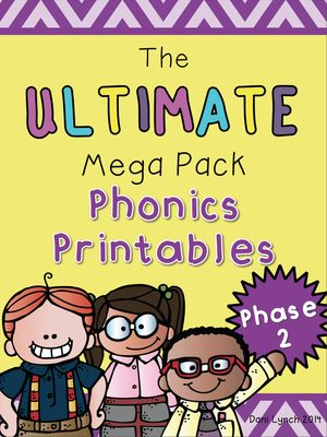 FREE! Ultimate Phase 2 Phonics Pack Freebie from MissLynch'sClass on TeachersNotebook.com -  (21 pages)  - A short snippet of my Phase 2 Phonics Pack