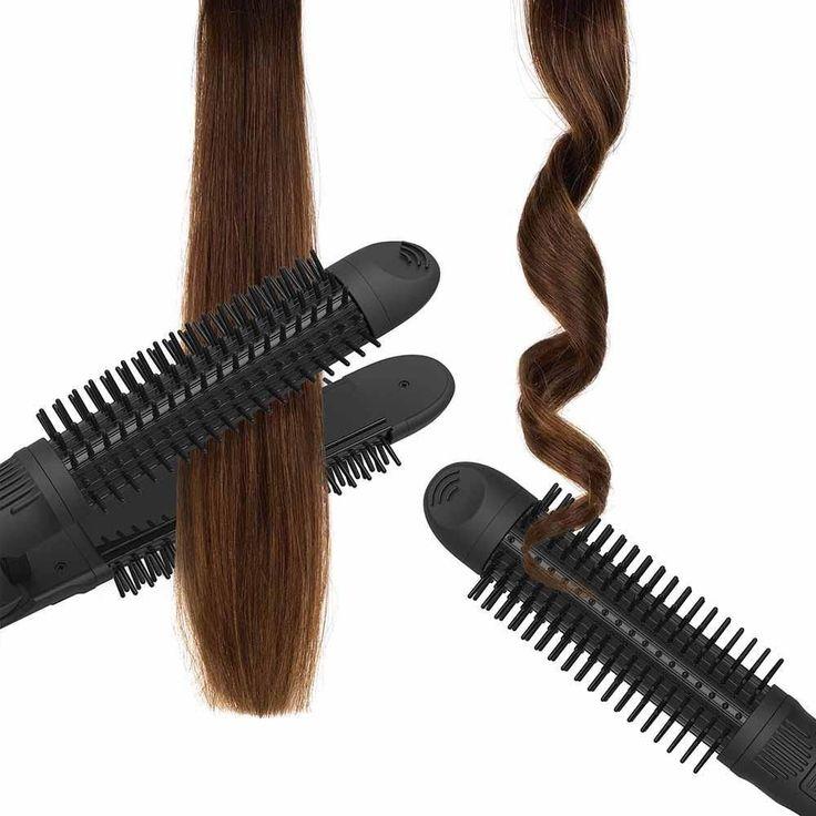Hotness 3in1 Styler Round hair brush, Hair tools, Hair
