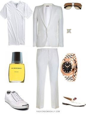 "I love the ladies' wardrobe requests, but it warms my heart when I receive one from the fellas. It's just so cute when guys want to dress up! Lee says, ""I need help. I'm going to an all-white party very soon and unfortunately for men, we end up looking like somebody's uncle in a linen…"