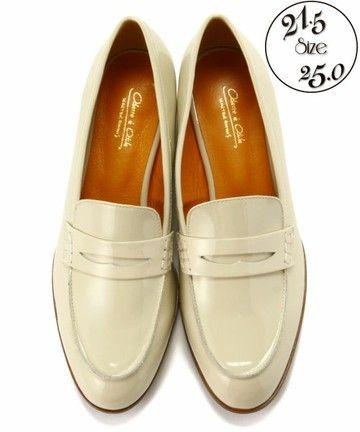 オデット エ オディール/O ローファー / Cream loafer ShopStyle