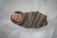 Hipknitized: Free Pattern: Baby Stork Sack ( Cocoon )