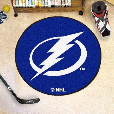 FANMATS NHL - Tampa Bay Lightning Puck Doormat