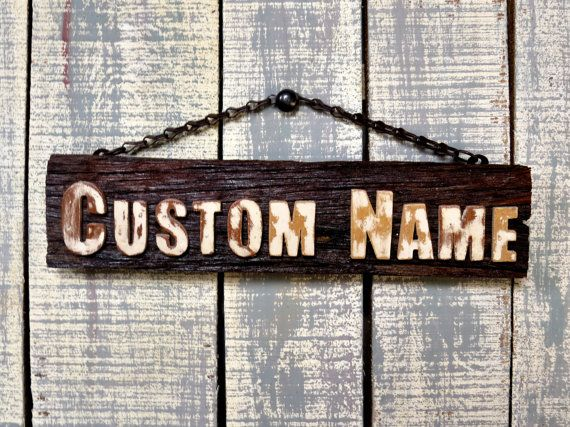 Best 25+ Wooden name plates ideas on Pinterest | Wedding place ...
