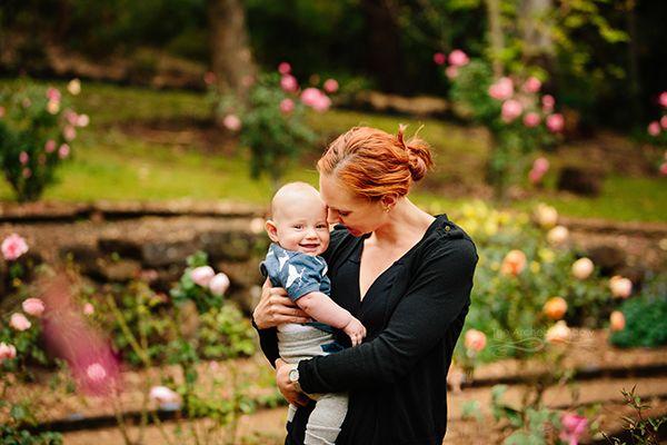 mum and baby portrait mount tamborine