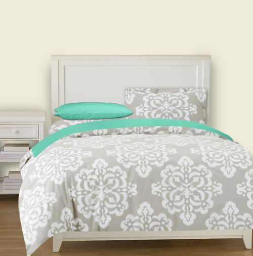 Karles, what about this? With a dark gray sheet or black and then with the accent pillows!