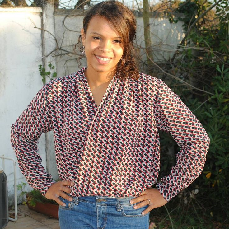 My Sew Over It Anderson Blouse is on the blog