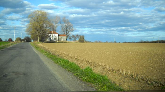 Road trip around Lake Ontario. This is Prince Edward County in the Spring.