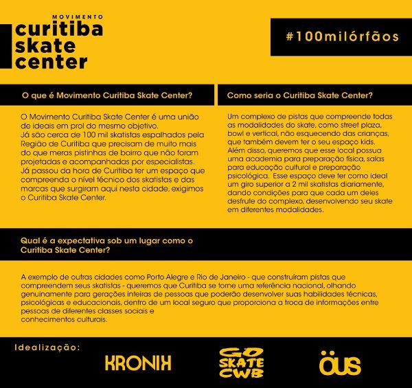 Movimento Curitiba skate center - Clube do skate