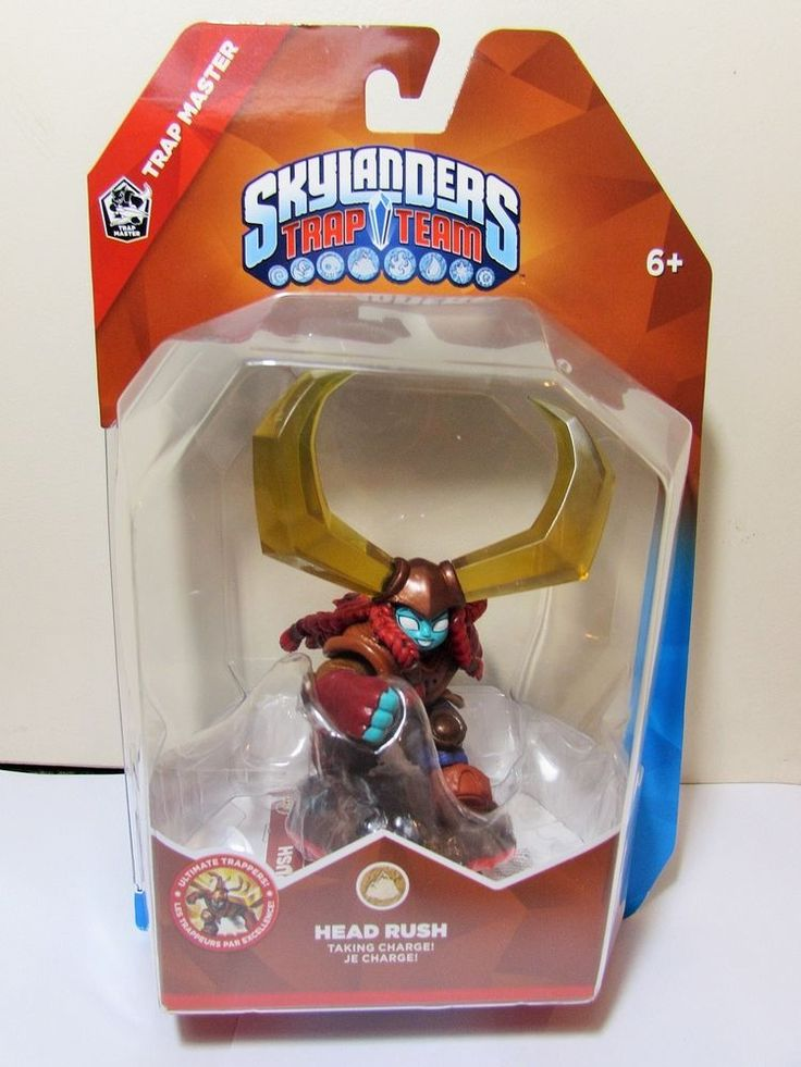 Skylanders Head Rush Trap Team Trap Master BNIB