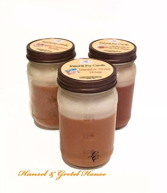 Vegan Candles Mason Jar Candles Scented by LuciasCandleCottage
