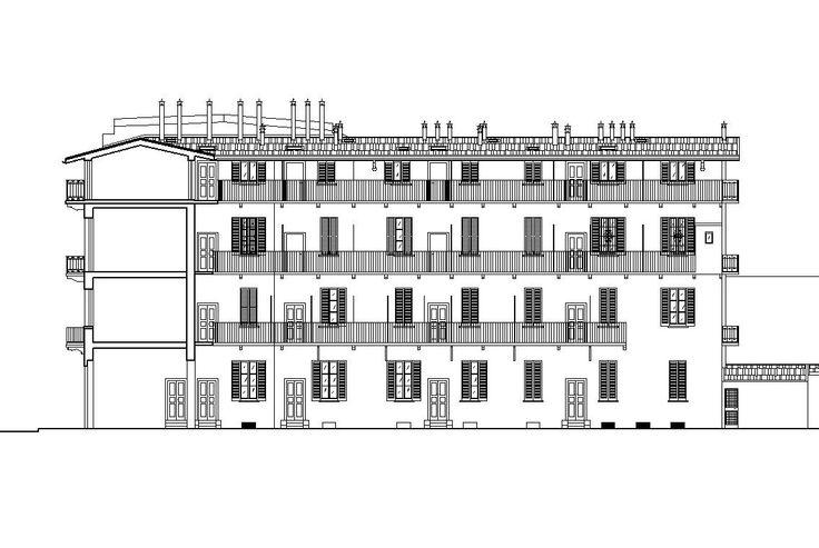 Recupero Sottotetti - Recovery Attics, in via Bembo 24 Milano. Studio di Architettura Roberto Carlando. Piazza Monte Falterona n°11 Milano - 20148 Italy. Phone +39.02.48713840 studio@robertocarlando.com ; www.robertocarlando.com